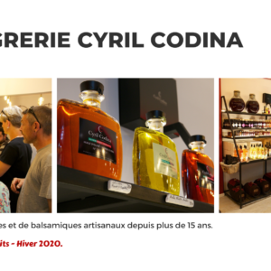 Catalogue fin 2020 - Vinaigrerie Cyril Codina